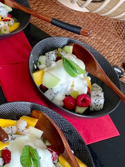 Obstsalat - salad trái cây