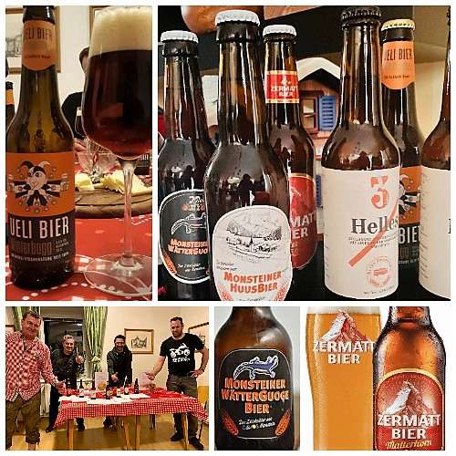 Bierverkostung Schweiz