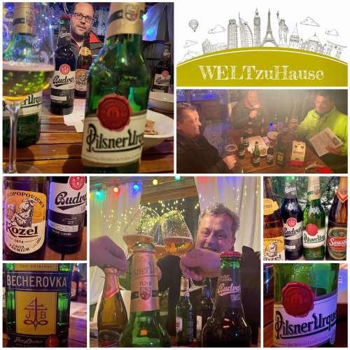 Bierverkostung Tschechien