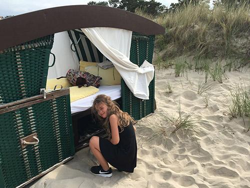 Im Strandkorb schlafen | weltzuhause.at