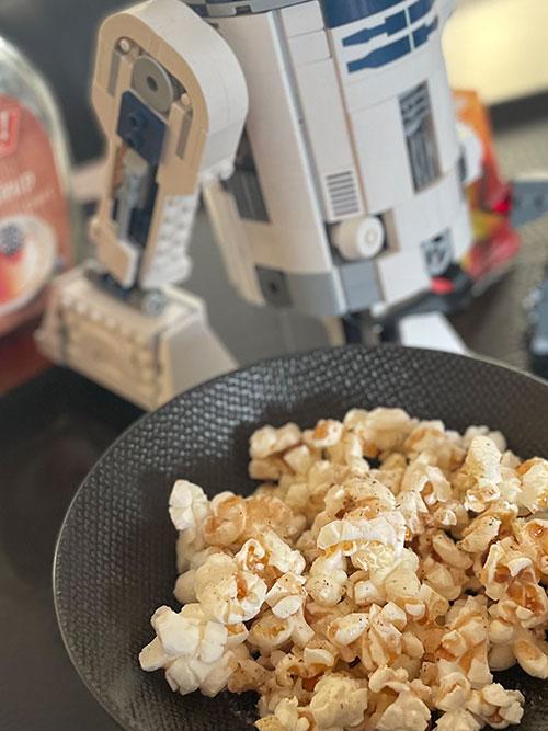 Todesstern Popcornkugeln | weltzuhause.at